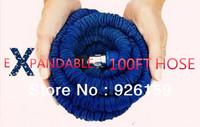 10pcs/lot 100FT Expandable Hose ,100 ft New double latex garden hose double layer water hose As seen on TV 2014 flexible hose