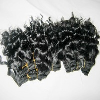 Warehouse clearance 100% brazilian human hair kinky deep curly weave 10pcs/lot,30grams/piece,short 8 inch ,free shipping