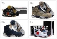 11 Colours Air Retro 7 VII Bel Air Shanghai Shen Men's Basketball Sport Footwear Sneaker Trainers Shoes ( 1 - 11 Colours)