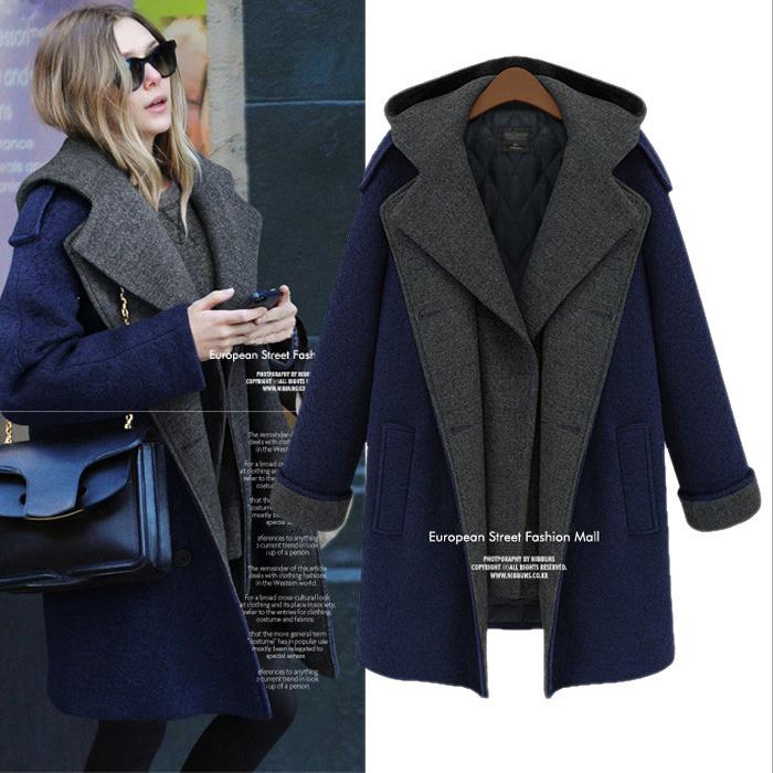New 2014 winter dress high quality coat medium-long wool outerwear cotton clothes women coats winter fashion winter coat women(China (Mainland))