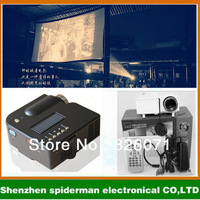 (2pieces/lot)Household LED mini projector UC28 +/android HD mini computer/ phone projector for iphone