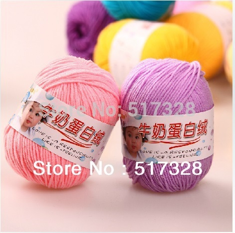 500g/bag (50g/ball,10balls/bag) Silk fiber Lamp wool Cashmere Yarn,Baby knitting,sweater knitting yarn, needle work, 2mm needle(China (Mainland))