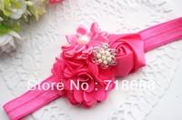 AngelBaby headwearFlower headbands cute love-baby 2 headbands Small flowers Combination headband 25pcs/lot