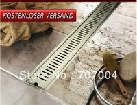 bathroom rectangular stainless steel floor drain ground leakage Floor Filler