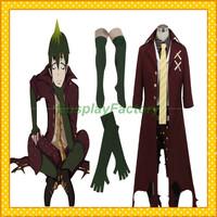 Free Shipping Custom Made Ao No Exorcist Anime Cosplay Amaimon Fullset Costume,1.5kg/pc