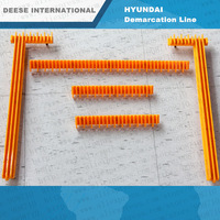 Plastic Demarcation Line  for escalator Parts Lift Professional elevator parts manufacturer