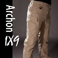 Windfroof Waterproof Cargo Pants Winer Warm Men Casual Camping Outdoor Sport Hiking Army Green Military Pants Actical Trousers