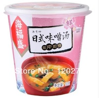 Free shipping Chinese  food Japanese miso soup10g*3 ingredients vegetable instant soup dehydrated food Outdoor essential food