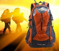 2014 Brand Waterproof 40L Nylon Outdoor Backpack Hiking Bags Camping Sports Wholesale Durable Cycling Bags free shipping