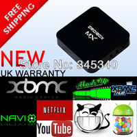 Linux Pure XBMC Frodo12.2 TV Box can run Android Linux, Dual core Smart Linux TV Box