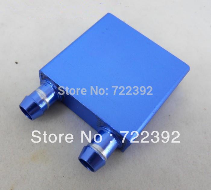 2 pcs 40 * 40 * 12 mm de alumínio de arrefecimento do bloco de água para CPU gráficos radiador dissipador Cooler GPU grátis frete com número de rastreamento(China (Mainland))