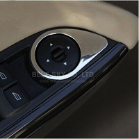 Car ABS Chrome trim Window lift buttons decocation for For focus 3 MK3,auto accessories