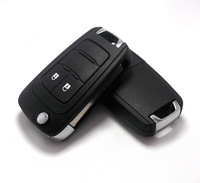 Buick xt remote control key hatchback folding key replace shell 2 key three-dimensional emblem