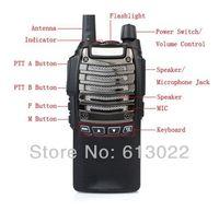 Professional Walkie walkie BF-UV8D radio 5W output power