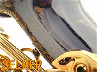 FREE SHIPPING EMS Senior French brand  Salma 54 selmer alto saxophone e musical instrument black ni-au double key