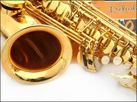 FREE SHIPPING EMS Senior French brand  Salma 54 selmer alto saxophone e musical instrument electrophoresis gold professional