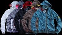 Free Shipping UK new style man hooide fasthion jacket