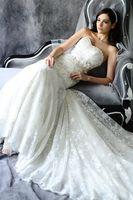 New Sweetheart White / Ivory Lace Wedding Dress Custom Size 6 +8 +10 +12 +14 +16 + + +