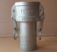 "C+F 3/4"" DN 20 SS304 camlock quick couplings"
