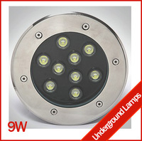Fedex free shipping 9W Led buried lights 3w outdoor lights IP68 led lamp outdoor lamp underwater lights