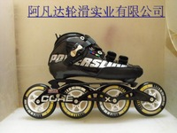 Powerslide adult skates professional racing style speed skating shoes single-row roller skates