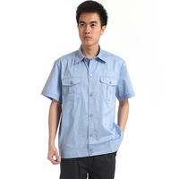 20sets [Free ship] Work wear set short-sleeve summer workwear car uniform work wear mechanic work clothes full set