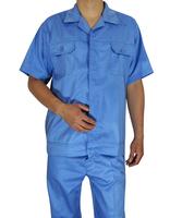 20sets [Free ship] Summer short-sleeve work wear set male protective clothing tooling work wear workwear work wear full set