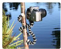 Digital Camera Mini Tripod Stand Flexible grip Octopus Bubble Pod Monopod Flexible Leg Small Camera Holder