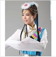 Dance clothes decoration fan dance yangge costume hair accessory hair accessory