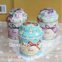 New year sale!Vintage style flower series tea box,Cut tin box,storage case,organizer, Iron case,storage container Free shipping!