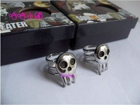 Brand New in Box Soul Eater Death The Kid Cosplay 2 Rings Set Free Shipping