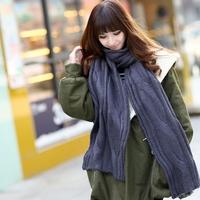 220cm ultra long 2013 yarn twist scarf winter thermal thickening