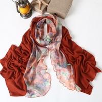 Cabinet ultra thin 2013 women's yarn long scarf patchwork