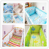 Contain 4 Pieces Bumper Cover,Bumper Filler and Sheet,Both Safety and Healthy Kids Accessory,Baby Bedding Bed Around Bedding Set