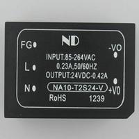 220V AC to 24V DC Converter 10W single AC-DC power supply module Small volume