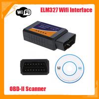 WiFi ELM 327 ELM327 OBD 2 II Car Diagnostic Interface Scanner TOOL dropshipping Wholesale