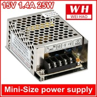 factory outlet 15v DC 25W mini-size industry power supply( MS-25-15)