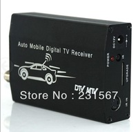 Promotion ISDB-T5009 Car ISDB-T receiver, One seg auto mobile tv tuner, set top box, 1 STB MPEG2 MPEG4 Free shipping