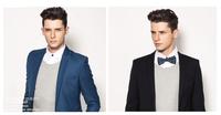 Free shipping men's fashion blazer 2013 autumn and winter new style high-quality men's big size suit coat blazer men