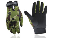 Dirt Bike Cycling Full Finger Gloves MTB Bicycle Gloves Mountain Road Bike Racing Gloves 511 Camouflage Tactical Gloves