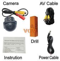 Universal Car Rearview Camera Car Backup Camera with waterproof night vision NO.CA408