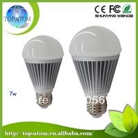 Best-sell led bulbs low shipping fee 10pcs a bag  2800~6500k using 15 pcs led 7w led lamp