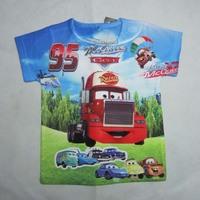 baby girls coke cartoon boy clothes unisex children short sleeve the mountain 3d carst-shirt kids blouse outerwear