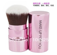 fashion RETRACTABLE KABUKI Brush Multi Tasker Full Size blush cute NEW