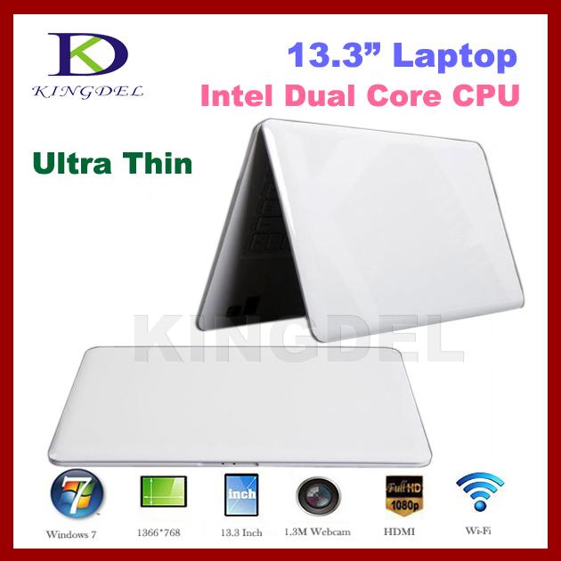 2014 New 2GB&160GB Super Thin laptop Notebook ComputerIntel D2500 Dual Core 1.86Ghz Webcam, HDMI,WIFI,4500mah Battery Windows 7(China (Mainland))