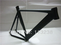 Top Quality 52/54/56CM Matt Black Aluminium Alloy Track Racing Bike Frame Euro Style Fixed Parts Wholesale
