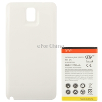 7500mAh Replacement Mobile Phone Battery with NFC Cover Back Door for Samsung Galaxy Note 3 N9000