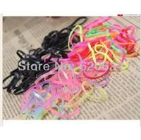 5barrel/lot Free shipping Candy colors Baby Small rubber band girls Headband Elastic children headband XSP003