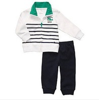 TZ204 Free shipping Carter Brand newborn baby clothes baby boys sport suit cotton infant clothing wholesale and retail