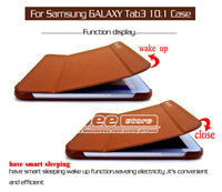 Original 1:1 P5200 Stand Case,Fashion Logo PU Leather Skin Tablet Case Cover for Samsung Galaxy Tab 3 10.1 P5200/P5210 1PCS
